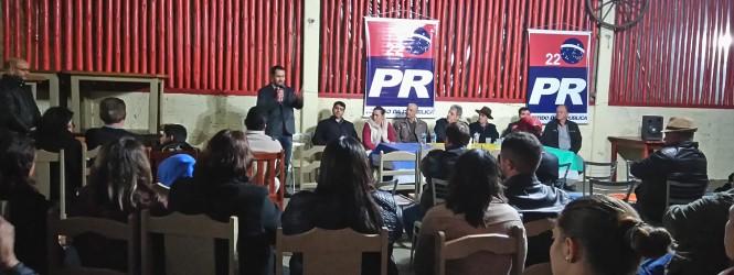 PR lança pré-candidatura de Jeronimo Gadens do Rosario a prefeito de Turvo